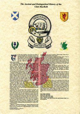 Scottish Clans & Irish Septs