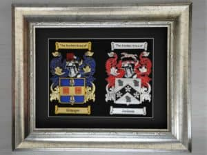 Double Framed Embroideries