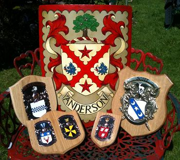 Hand Painted Shields