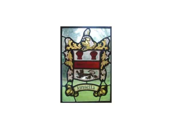 COA Stained Glass Panel