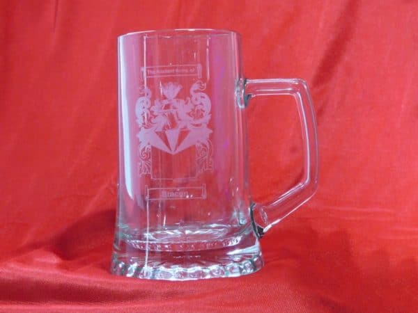 Large Crystal Tankard